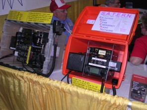 Station in go kit as displayed at SATERN booth, Hamvention