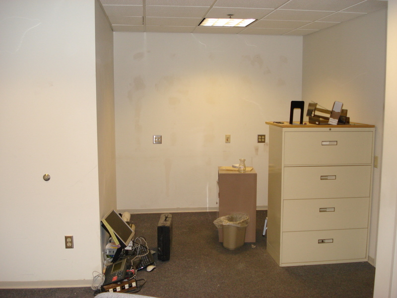 Avery's old office undergoing renovation