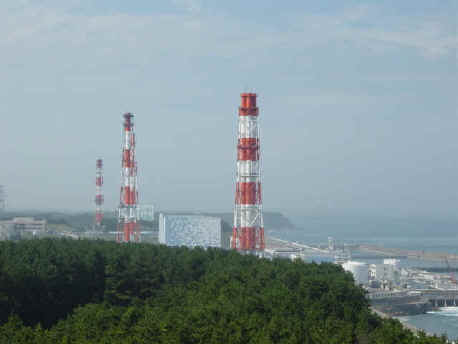 Fukushima nuclear plant prior to earthquake, photo courtesy Wikimedia Commons, licensed under GNU.