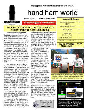 Handiham World Screenshot