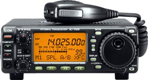 Icom IC-703 QRP radio