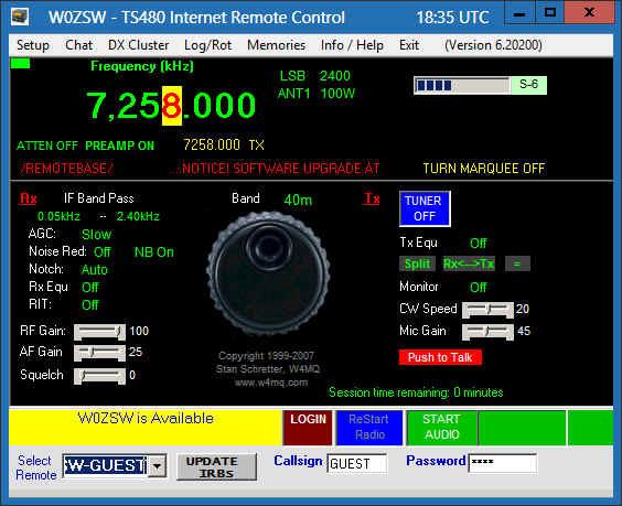 It's Here! 6 20200 – Handiham Remote Base HF Stations