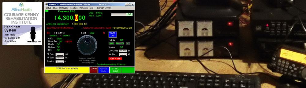 W4MQ Internet Remote Base Software