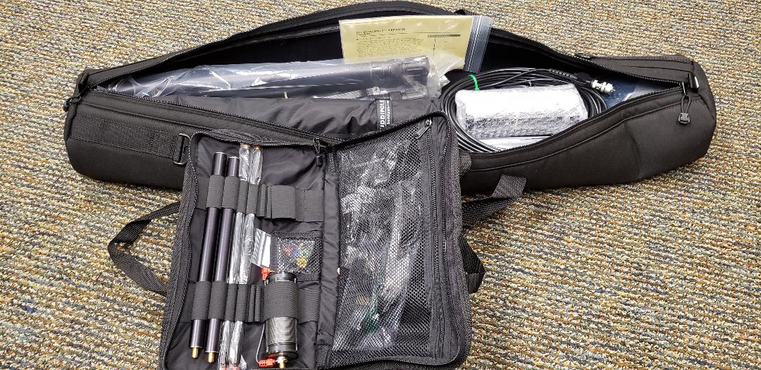 photo of Buddipole and Buddistick antennas in their open cases