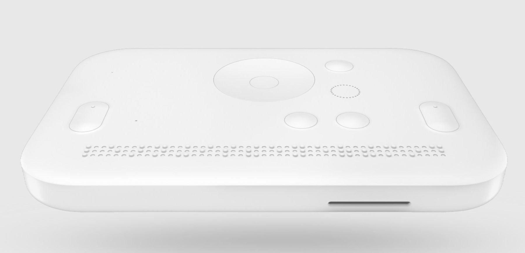 Photo of Dot Mini smart device.