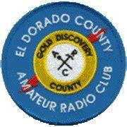Photo of El Dorado County Amateur Radio Club logo.