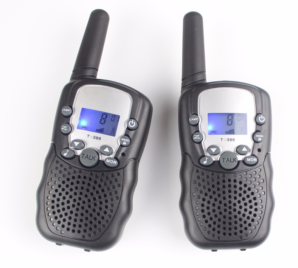 Photo of two FRS radios made for kids.