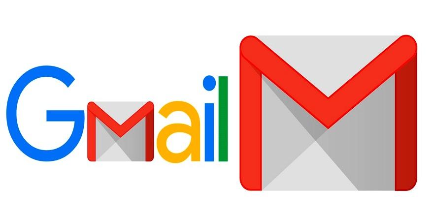 Photo of Gmail logo.