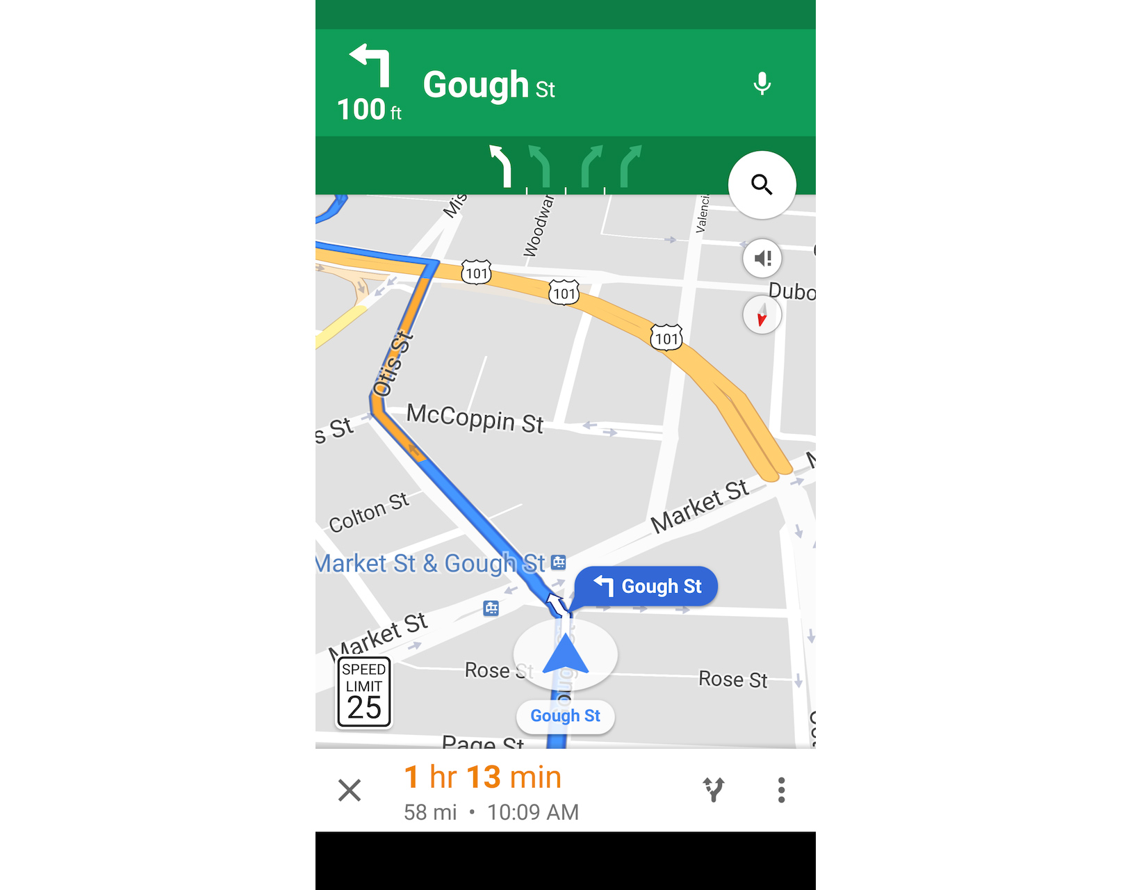 photo of Google Maps App