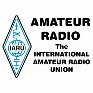 Photo of IARU logo.