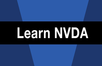 photo words Learn NVDA