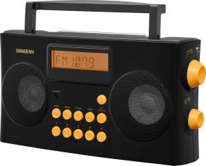 photo of Sangean PR-D17 radio for the blind or visually impaired