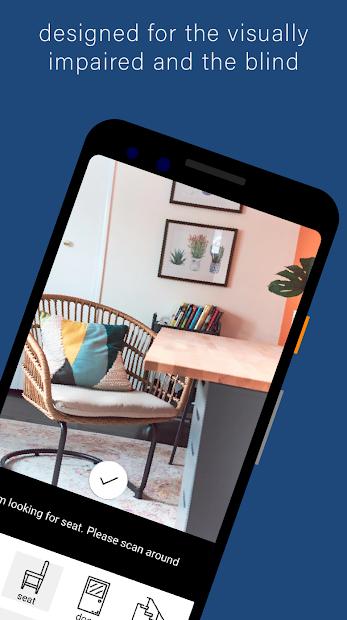 photo of Supersense App open on smart phone