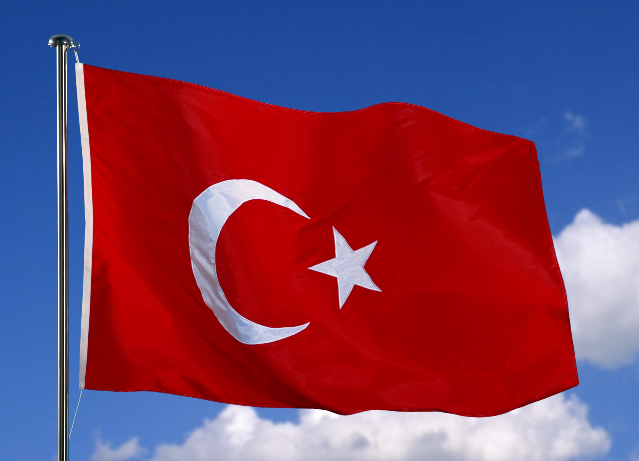 Photo of Turkish flag