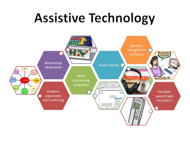 photo of many different assistive technology options