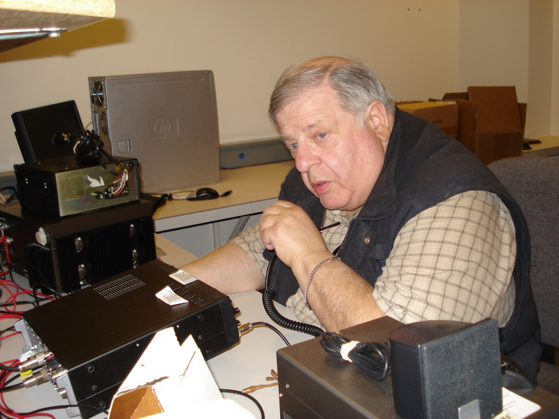 Avery at W0ZSW - last QSO from Courage Center
