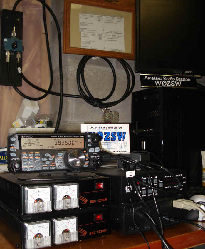 W0ZSW station with TS-480HX
